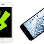 iPhoneのディスプレイのガラス割れの修理をするには!