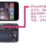 iPhone6修理 水没復旧