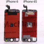 iPhone6s 画面ディスプレイの部品は!「発売前情報」